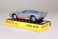 Dinky Toys 132; Ford 40-RV; Metallic Silver