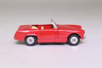 Dinky Toys 112; Austin Healey Sprite Mk II; Open Top, Red