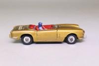Dinky Toys 114; Triumph Spitfire; Gold, Black Base, Boot Logo