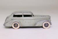 Dinky Toys 39b; Oldsmobile 6 Sedan; Grey, Black Ridged Hubs