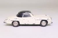 Dinky Toys 24H; Mercedes-Benz 190SL; Cream, Black Top