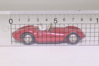 Dinky Toys 22a; Maserati Sport 2000; Red