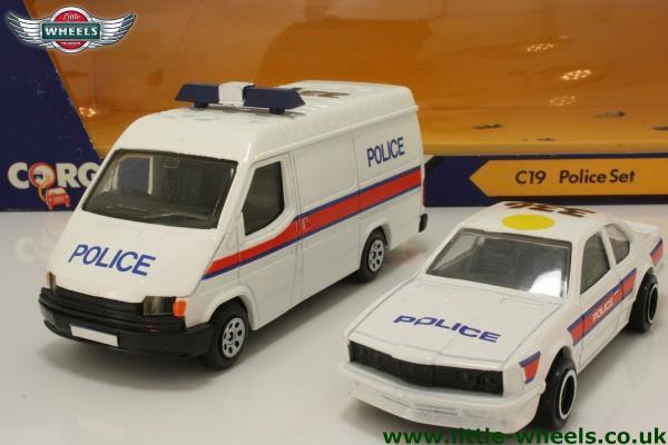 Police Transit & BMW Set