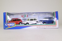 Corgi Classics 94171; BL/Rover Mini; 3 Car Set: The Italian Job
