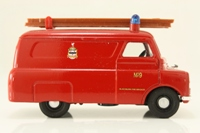 Corgi Classics 96906; Bedford CA Van; Blackburn Fire Brigade, Red with Ladder