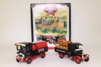 Corgi Classics 97747; Webster's Brewery 2 Truck Set; AEC Cabover Tanker & Thornycroft Beer Lorry