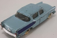 Dinky Toys 179; Studebaker President; Light Blue With Blue Side Flash, Painted Hubs