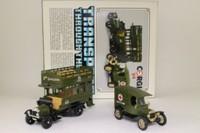 Corgi Classics C88; WW1 Bus & Ambulance 2 Pce Set; Thornycroft Bus & Model T Ambulance