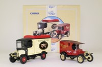 Corgi Classics 97753; Terry's of York 2 Van Set; Thornycroft & Ford Model T