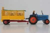 Corgi GS33; Tractor & Beast Carrier Set; Fordson Major & Trailer
