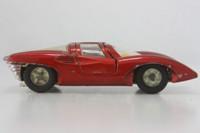 Dinky Toys 220; Ferrari P5; Metallic Red - Cast Wheels