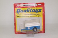 Corgi Q708; Qualitoys Turbine Trucks; Pick-up Trailer