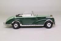 Corgi Classics C806/2; 1956 Mercedes-Benz 300 SC; Open Cabriolet; Two-Tone Green