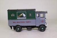 Corgi Classics C897/8; AEC 508 Cabover Van; His Master's Voice, Grey/Green