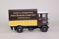 Corgi Classics D897/11; AEC 508 Cabover Van; John Barker, Kensington, Removals & Warehousing