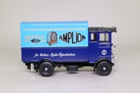 Corgi Classics C897/5; AEC 508 Cabover Van; Amplion Radio Loudspeakers