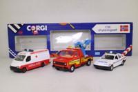 Corgi C55; Norway Emergency Services Set; Police, Ambulance & Wrecker
