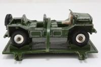 Dinky Toys 601; Austin Mini Moke; Para Moke; Drab Green, Spun Hubs