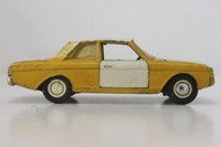 Dinky Toys 154; Ford Taunus 17M; Yellow With White Roof