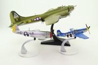 Corgi AA99126; 8th Army Air Force 3 Pce Set; Boeing B-17F; P47D Thunderbolt; P51D Mustang
