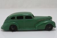Dinky Toys 39e; Chrysler; Green, Black Ridged Hubs