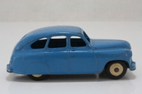 Dinky Toys 40e; Standard Vanguard; Mid Blue, Cream Hubs, Closed Arches
