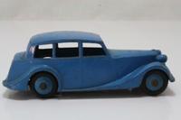 Dinky Toys 151; Triumph 1800; Light Blue, Light Blue Hubs