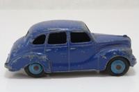 Dinky Toys 152; Austin Devon Saloon; Dark Blue, Blue Hubs