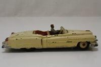 Dinky Toys 131; Cadillac Eldorado; Cream, Grey Seats, Beige Painted Hubs, Grey Driver