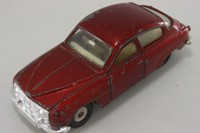 Dinky Toys 156; Saab 96; Metallic Red