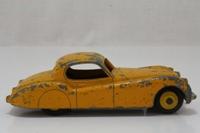 Dinky Toys 157; Jaguar XK120; Yellow, Yellow Painted Hubs