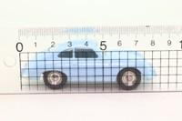 Atlas Dinky Toys 182; Porsche 356a; Pale Blue, Spun Hubs