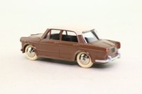Atlas Dinky Toys 531; Fiat 1200 Grande Vue; Brown & White
