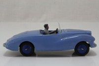 Dinky Toys 101; Sunbeam Alpine; Light Blue, Dark Blue Interior, Blue Hubs, Grey Driver
