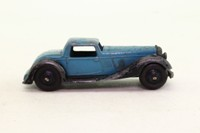 Dinky Toys 36b; Bentley 2-Seater Sports Coupe; Saxe Blue/Black