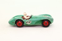 Dinky Toys 110; Aston Martin DB3S Competition; Mid Green, Red Hubs; RN22