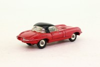 Dinky Toys 120; Jaguar E-type; Red