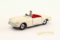 Dinky Toys 113; MGB; Cream, Red Seats