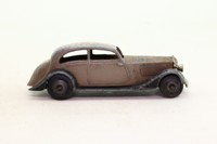 Dinky Toys 30b; Rolls-Royce Car; Greyish Brown/Black