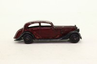 Dinky Toys 30b; Rolls-Royce Car; Maroon/Black