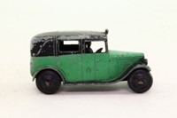 Dinky Toys 36g; Taxi With Driver; Green & Black, Closed Window