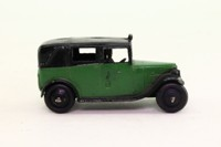 Dinky Toys 36g; Taxi With Driver; Green & Black, Open Window