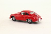 Dinky Toys 182; Porsche 356a; Red, Silver Painted Hubs, Black Gloss Base