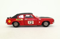 Dinky Toys 2214; Ford Capri Mk1 Rally; Red & Black; RN12