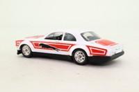 Dinky Toys 219; Jaguar XJ 5.3 Coupe; Big Cat Stickers, White