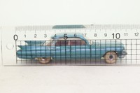 Dinky Toys 147; Cadillac; Metallic Green, Red Seats