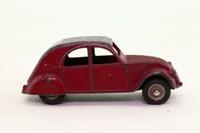 Dinky Toys 24T; Citroen 2CV; Maroon & Grey