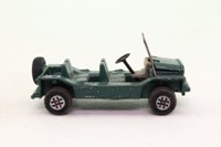 Dinky Toys 342; Austin Mini Moke; Metallic Green, Speedwheels