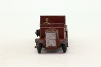 Dinky Toys 151b; 6 Wheel Army Truck; Brown, Smooth Hubs