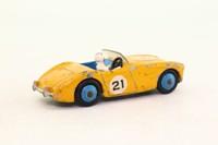 Dinky Toys 109; Austin Healey 100 Racing; Yellow, Blue Seats; RN21